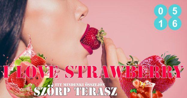 Strawberry-Lovers-Szörpterasz